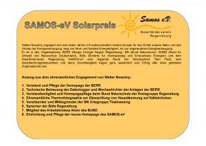 Urkunde Samos Solarpreis 2016 rückseite